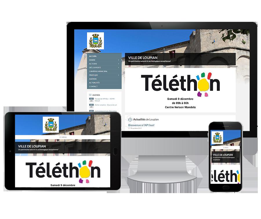 Site internet Institutionnel Béziers