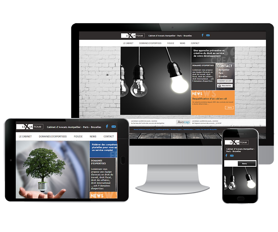 Site internet Avocat Montpellier