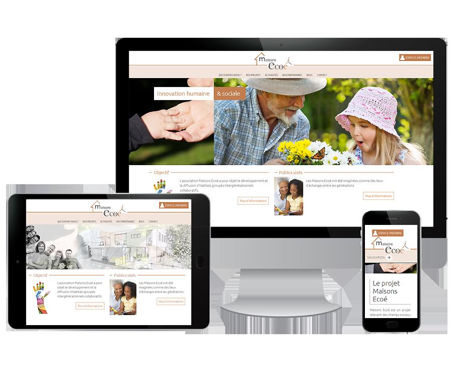 Site internet Association Montpellier