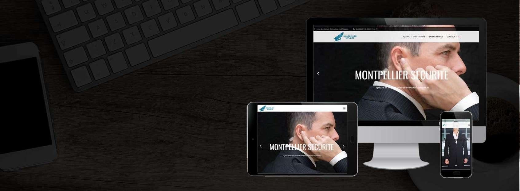 Création site internet entreprise Montpellier